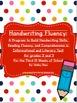 Handwriting Fluency: Common Core Based Literacy Skills for