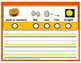 Handwriting:  Halloween Themed Number and Write Puzzle Sentences