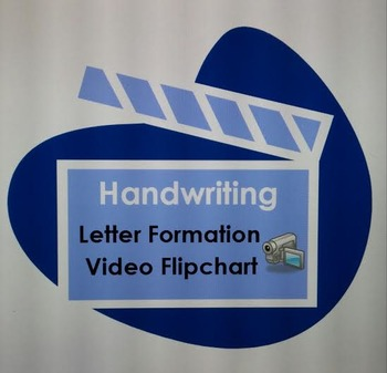 Handwriting - Letter Formation Video Flipchart, Letters Aa-Zz