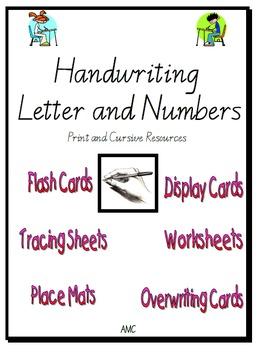 Handwriting: Letters and Numbers Resource