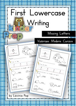 Handwriting - Missing Letters {Lowercase Letters} Vic. Cur