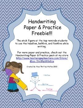 Handwriting Paper & Practice