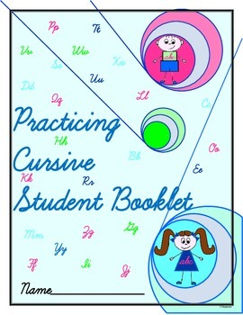 Handwriting Practice Booklet For Students Learning Cursive