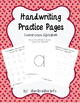 Handwriting Practice Pages - Dashed Lowercase DELUXE Pack