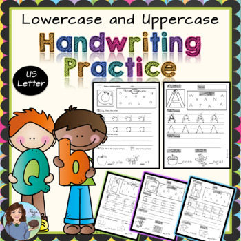 Handwriting Practice for Lowercase Letters