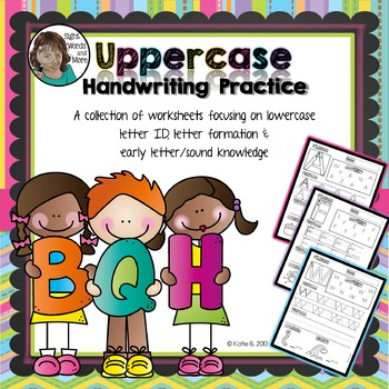 Handwriting Practice Uppercase Letters