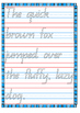 Handwriting QBeginners Practise Sheets