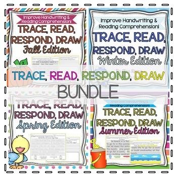 Handwriting & Reading Comprehension BUNDLE!