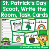 St. Patrick's Day Handwriting Scoot or Write the Room #fil
