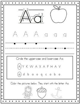 Alphabet Handwriting Sheet Freebie!