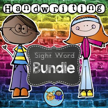 Handwriting Sight Words Bundle