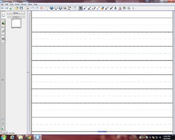 Handwriting Smart Notebook File
