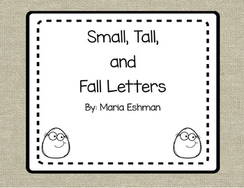 Handwriting: Tall, Small, and Fall Letters