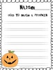 """Handwriting Without Tears Paper """"October"""" Edition"""