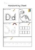 Handwriting Worksheet A to Z
