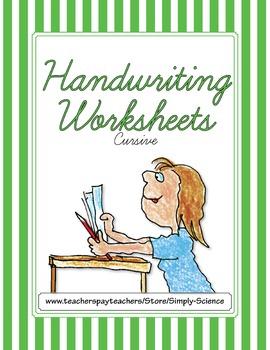 Handwriting Worksheets - Cursive