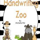 Handwriting Zoo