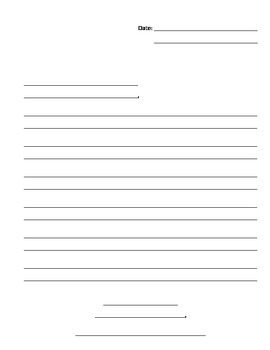 Handwriting without Tears Letter Paper
