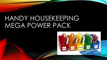 Handy Housekeeping Mega Power Pack