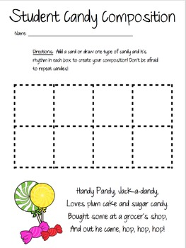 Handy Pandy... Sweet Candy Student Compositions