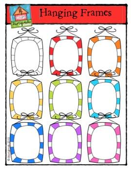 Hanging Frames {P4 Clips Trioriginals Digital Clip Art}