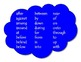 Hanging Posters for Prepositional Airplane and Clouds