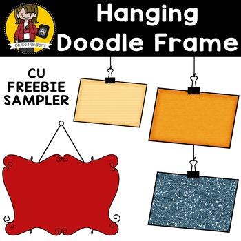 Hanging Sign FREEBIE SAMPLER {Clip Art for CU}