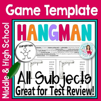 Hangman Vocabulary Review Game