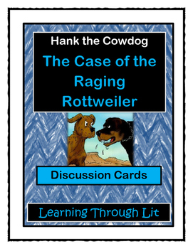 Hank the Cowdog THE CASE OF THE RAGING ROTTWEILER - Discus