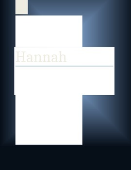 Hannah Comprehension Questions  (Depth of Knowledge and Qu