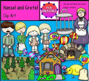 Hansel and Gretel Clip Art