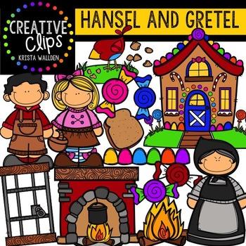 Hansel and Gretel {Creative Clips Digital Clipart}