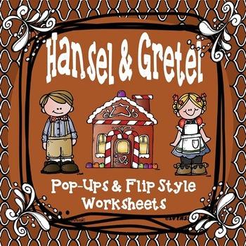 Hansel and Gretel Interactive Worksheets