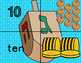 Hanukkah 1-10 Number Match