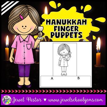 Chanukkah or Hanukkah Crafts Activities (Finger Puppets)