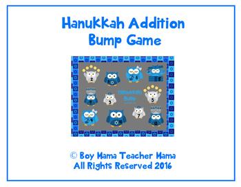 Hanukkah Addition Bump Game