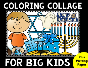Hanukkah Coloring for Big Kids