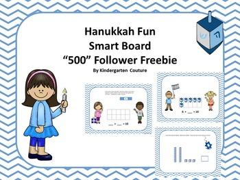 """Hanukkah Fun """"500"""" Follower Freebie!!"""