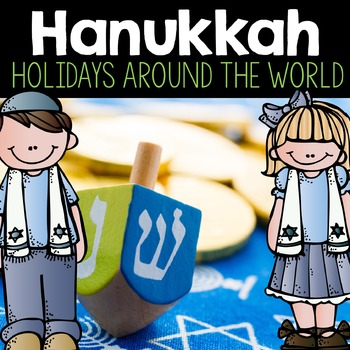 Hanukkah Holiday Add-On Pack- An Interactive, Close Read A