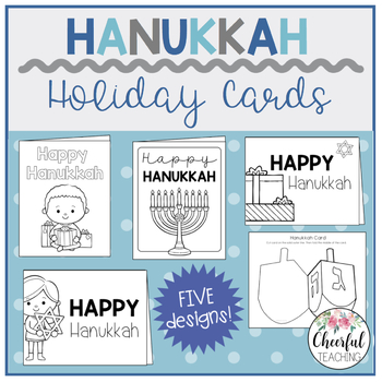 Hanukkah Holiday Cards