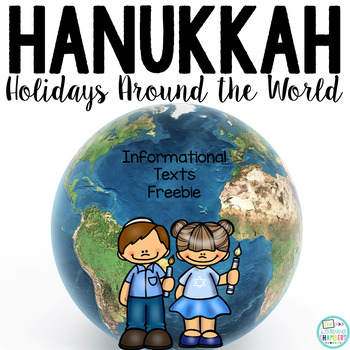 Hanukkah Informational Text: Main Idea, Comprehension Ques