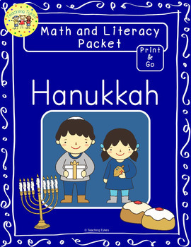 Hanukkah Worksheets Emergent Reader Task Cards
