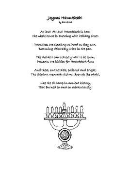 Hanukkah Poem