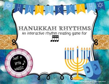 Hanukkah Rhythms - Interactive Reading Practice Game {tika tika}