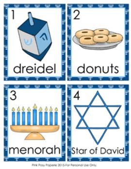 Hanukkah Write the Room Activity