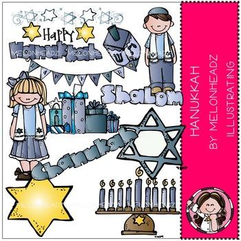 Melonheadz: Hanukkah clip art - COMBO PACK