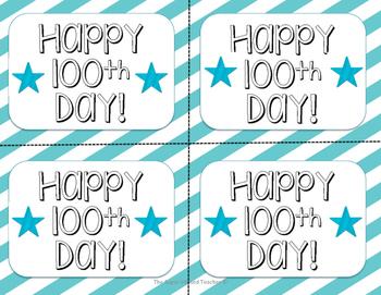 Happy 100th Day Tag