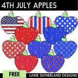 Happy 4th of July Apples Freebie!