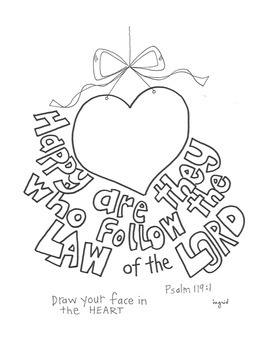 Happy Are They Who Follow the Law of the Lord Poster