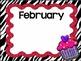 Happy Birthday! A Zebra Themed Kit
